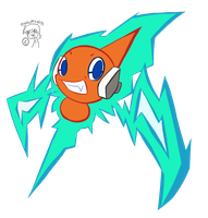Otto the Rotom :Quick Doodle: by FreakyFreak95