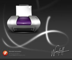 Printer Icon by dellustrations