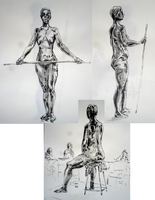 Life Drawing Class - 45 Min Poses by Alerane