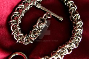 Elven Chainmail Bracelet by BenaeQuee