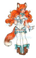 Sweet Vixen Offer to Adopt CLOSED! by nickyflamingo