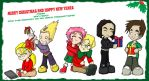 Code Lyoko XMas Card by Son-Neko