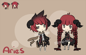 adoptables : aries with icons [ sold ] by stephie-boo