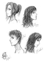 Faces by Nrian