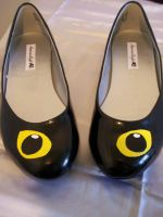Black Cat Eyes Shoes by KimsButterflyGarden