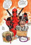 Deadpool Vs Politics by grams2300