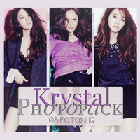 Photopack Krystal- F(x) 022 by DiamondPhotopacks