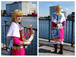 Skyward Sword Princess Zelda by olive-happy