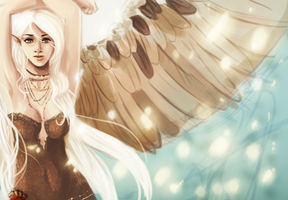 Angel Doodle by revois