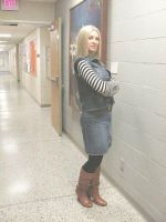 Serious Pose - Android 18 Ready for action!! by smithers456