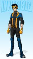 Project Rooftop: Invincible Redesign By John Green by Verde13