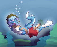 Swimming Smoothly by Trevor-Fox