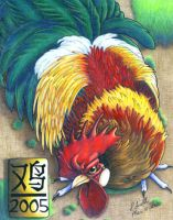 Year of the Rooster 2005 by leotheyardiechick