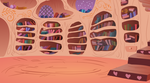 Library main room background by The-Smiling-Pony