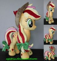 Rainbow Power Applejack for sale! by agatrix