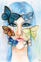 Butterfly Cry by MoonlitViolins