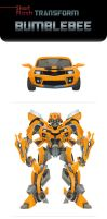 BUMBLEBEE Transform animation by zgul-osr1113