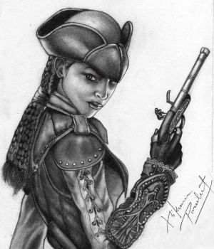 Assassin's creed liberation Aveline by V9921
