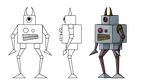 Robot Modelsheet by Link-of-the-twilight