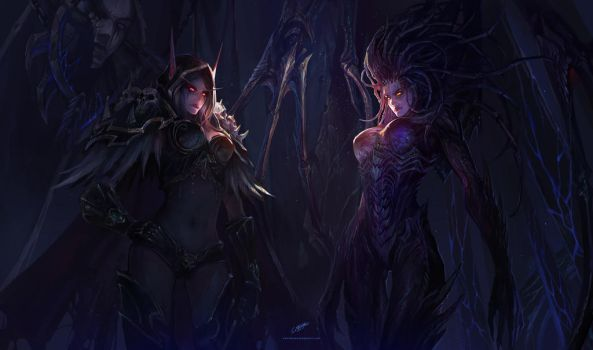 Wrath of the Queen by chenbo