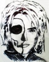 Skeletal Gerard Way. by Medicated-Kitty