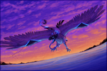 Soaring through the Wind by Xeshaire