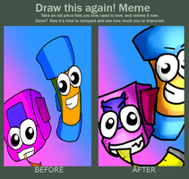 before X after Meme by MannieWoo