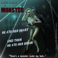 Lady Gaga Monster Movie V2 by TonyV125