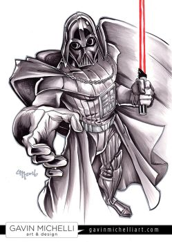 Lord Vader by GavinMichelli