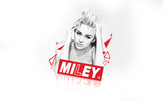Miley Cyrus wallpaper 1. by NewX4