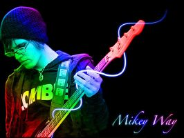 Mikey wallpaper 2 by angryannoyance