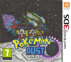 Pokemon Dust Version Cover Art by ProtoTypedKnife