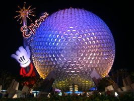 Epcot Center an Icon by DolfD