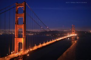 Golden Gate Bridge by mattTIDBALL