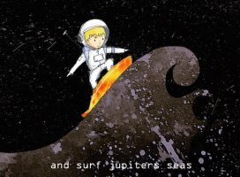 Spaceman Sam by InvisibleSnow