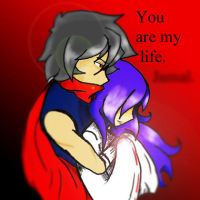 you are my life J++++ by punk-LUV