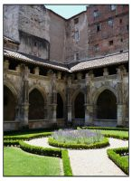 Cloister -print version- by Cat-in-the-Stock