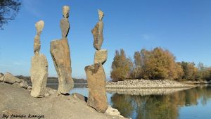 Stone balance art from Hungary by tamas kanya by tom-tom1969