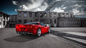 Red Vette by AmericanMuscle
