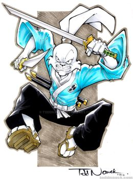 Usagi Yojimbo by ToddNauck