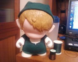 Link Munny WIP 3 by checkmyshoe123