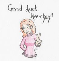 Good Luck Dweia by IrisAngel131