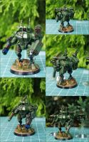 XV8 Crisis Battlesuit by WKucza