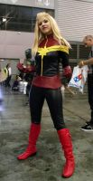 Captain Marvel Cosplay at 2014 Sydney Supernova by rbompro1