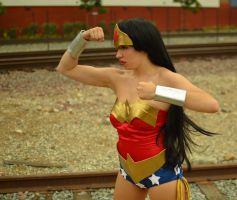 YJ: Wonder Woman by CheesyHipster