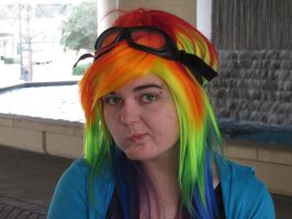 Rainbow Dash Human Type Cosplayer 5 by NocturnalRadiance