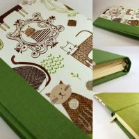 Handmade Journal with Cats by GatzBcn