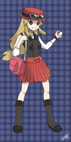 + Pokemon X and Y Female Protagonist + by KyseL