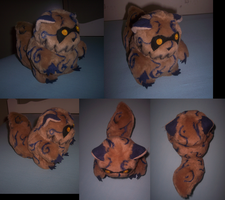 Faux fur Shukaku plush : FIN by goiku