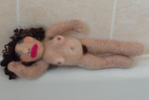 The felted lady! by Gofton